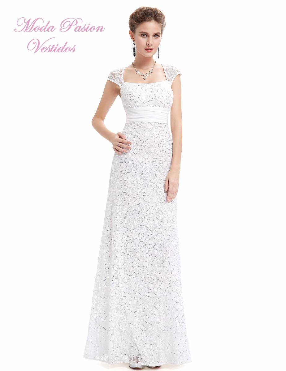 96656cf60739c trendy vestido novia encaje moderno y sencillo espalda moda pasin with  vestidos de novias modernos.