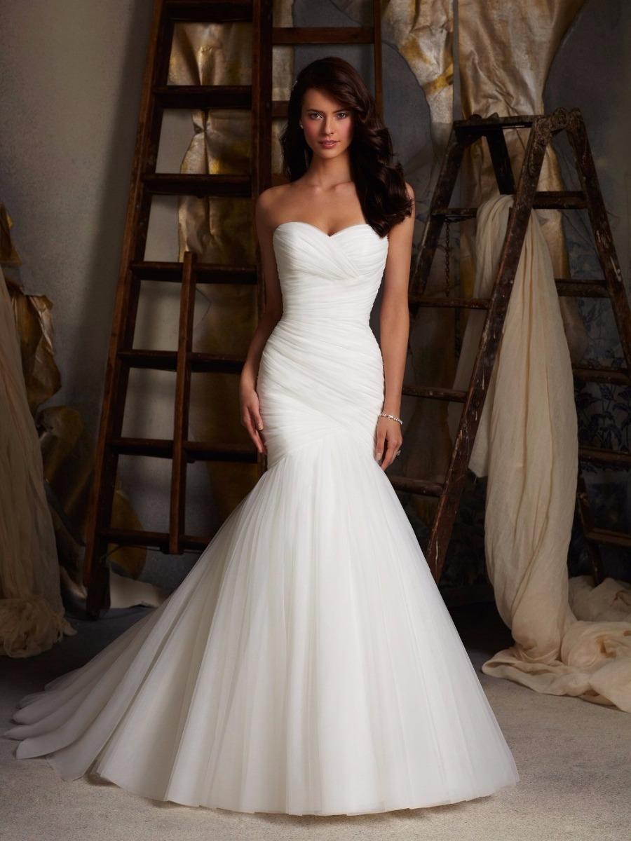 Vestidos de novia de estilo sirena
