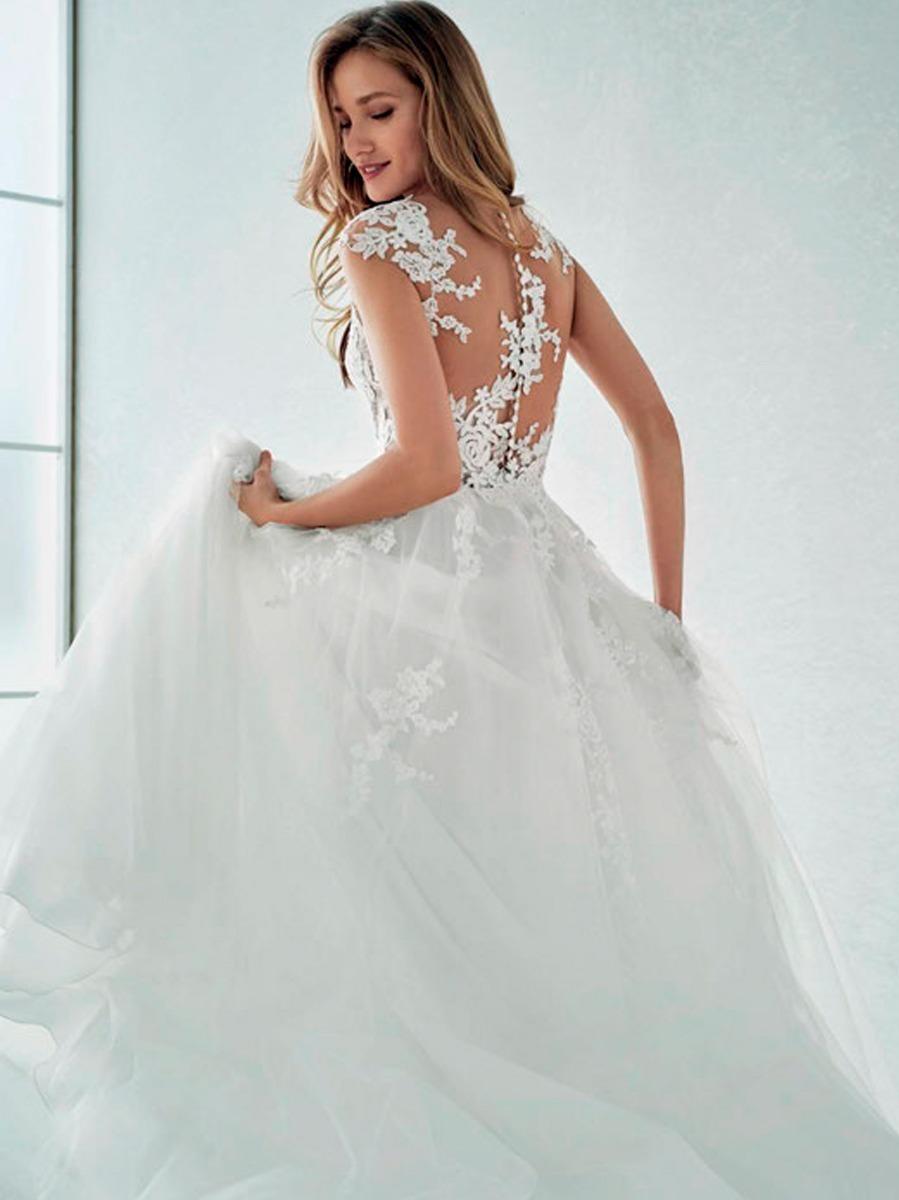 Novia One By Vestido White Pronovias Felicidad CxshBtQrd