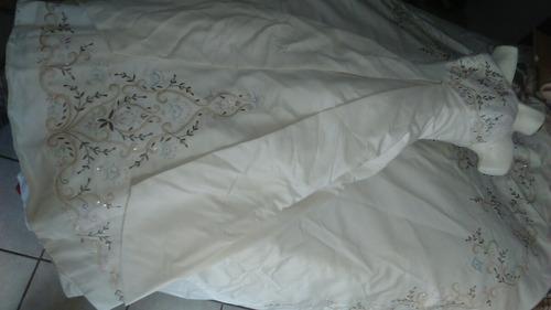 vestido novia ivory clasico multitallas c torera