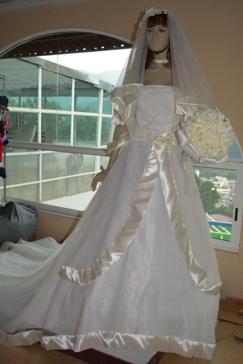 06e17b892c vestido novia (ivory) largo cola t-32 velo ramo crinolina 1. Cargando zoom.