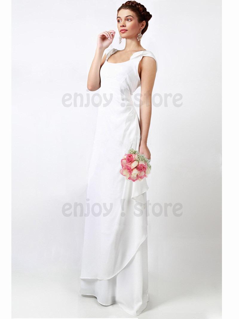 vestido novia largo fiesta chiffon importado boda 15 civil. Cargando zoom. b0ceee824241