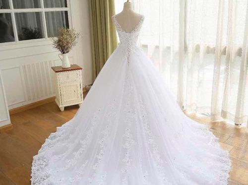 vestido novia nuevo barato vestidos ivory blanco princes bep