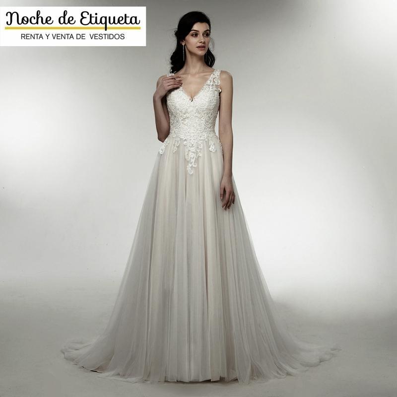 vestido novia nuevo corte playero blanco/marfil - $ 10,100.00 en