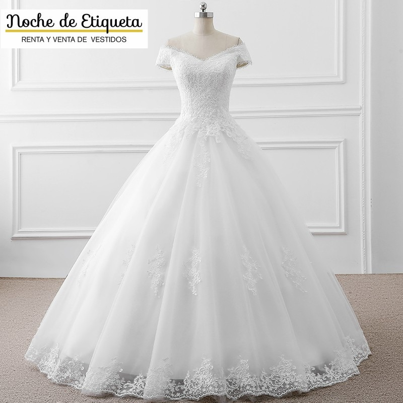 Fotos de vestidos de novia corte princesa