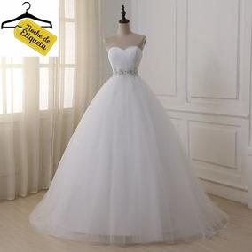 Vestido Novia Nuevo Corteprincesa Strapless Blancomarfil