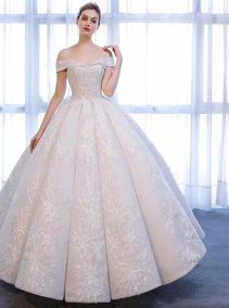 Vestido De Novia Color Beige Vestidos De Mujer Largo Nuevo