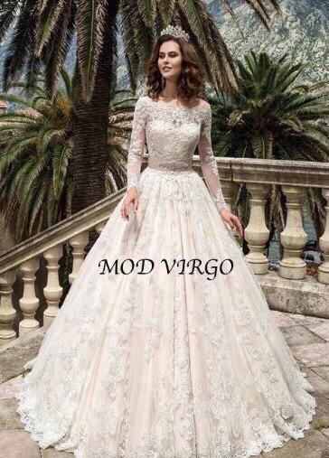 6afca814f Vestido Novia Nuevo Modelo Virgo Barato Elegante Español ...