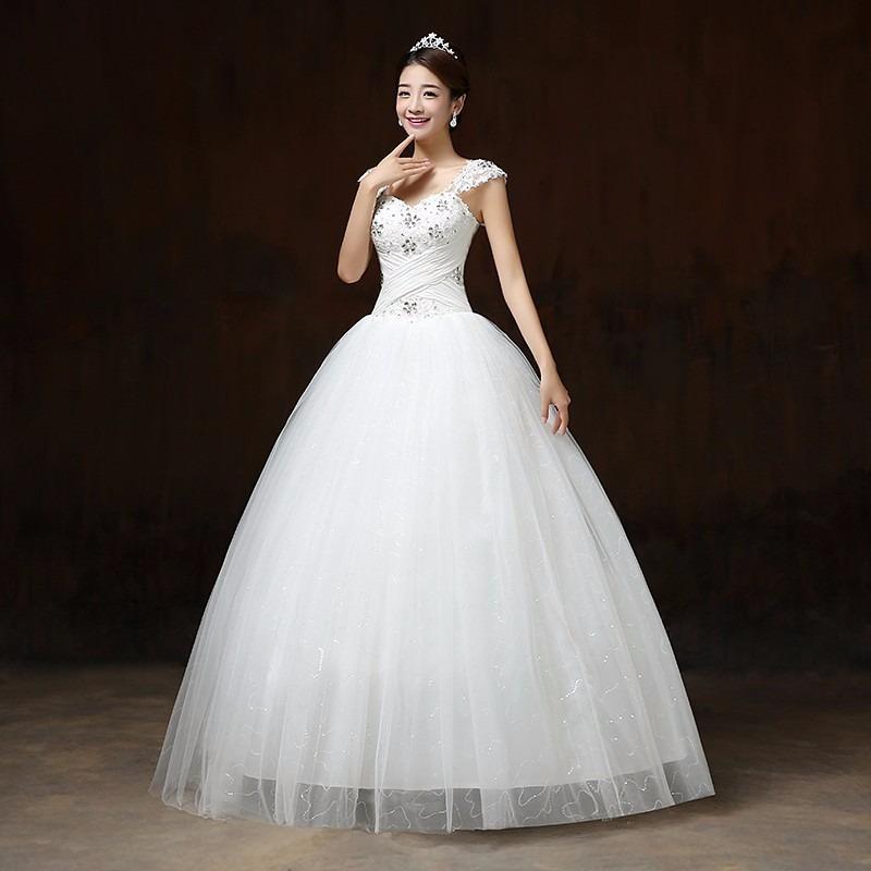 Vestido Novia Princesa Corazón Sencillo Ivory F - $ 1,869.00 en ...