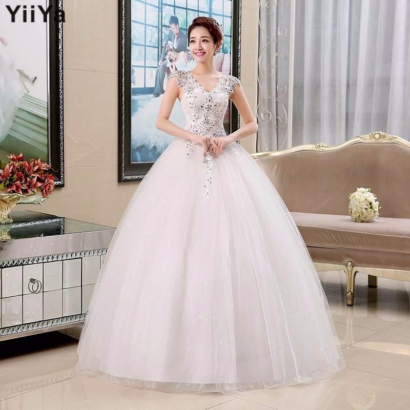 Vestidos de novia con cuello de princesa