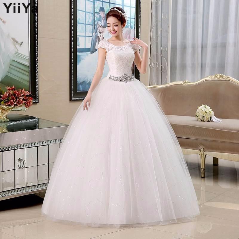 vestido novia princesa manga corta ivory + mantilla 2.60