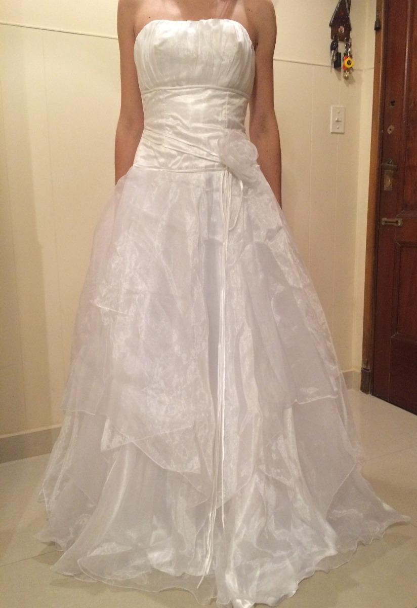 Vestido Novia Quince Usado Blanco Barato - $ 2.000,00 en Mercado Libre
