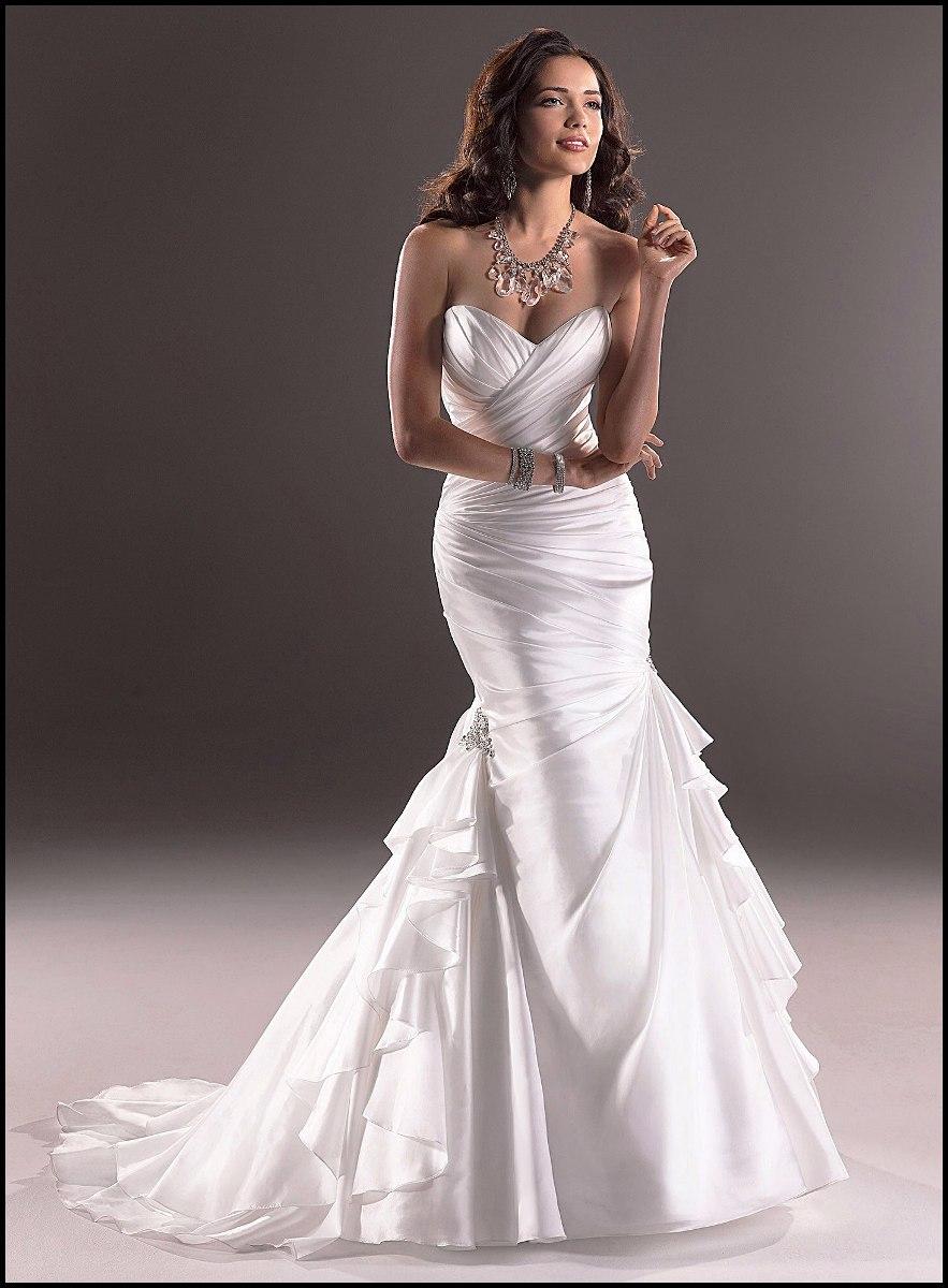 Vestido Novia Sirena Skylar Maggie Sottero Talla 38 - $ 725.000 en ...