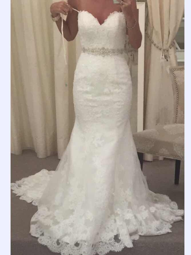 28855f307e vestido novia sirena straples s importado miami 2018. Cargando zoom.