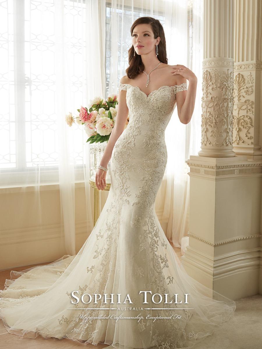 Vestido Novia Sophia Tolli Y11634 Color Ivory - $ 19,800.00 en ...