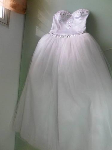 Vestido De 15 Años. Vestido De Novia, Civil - $ 8.500,00 en Mercado ...