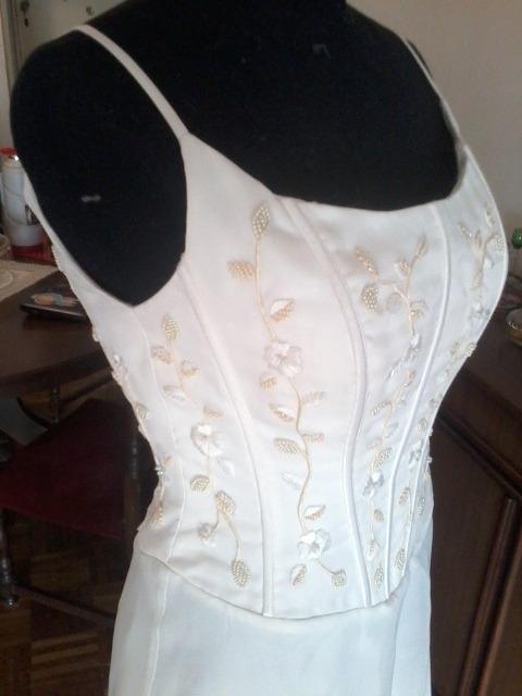 Vestido Novia/15 Años Corset Bordado, Modista Alta Costura - $ 5.300 ...
