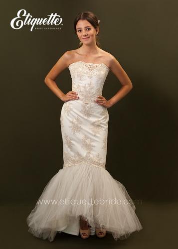 vestido nuevo de novia boda cocktail hermoso barato blanco