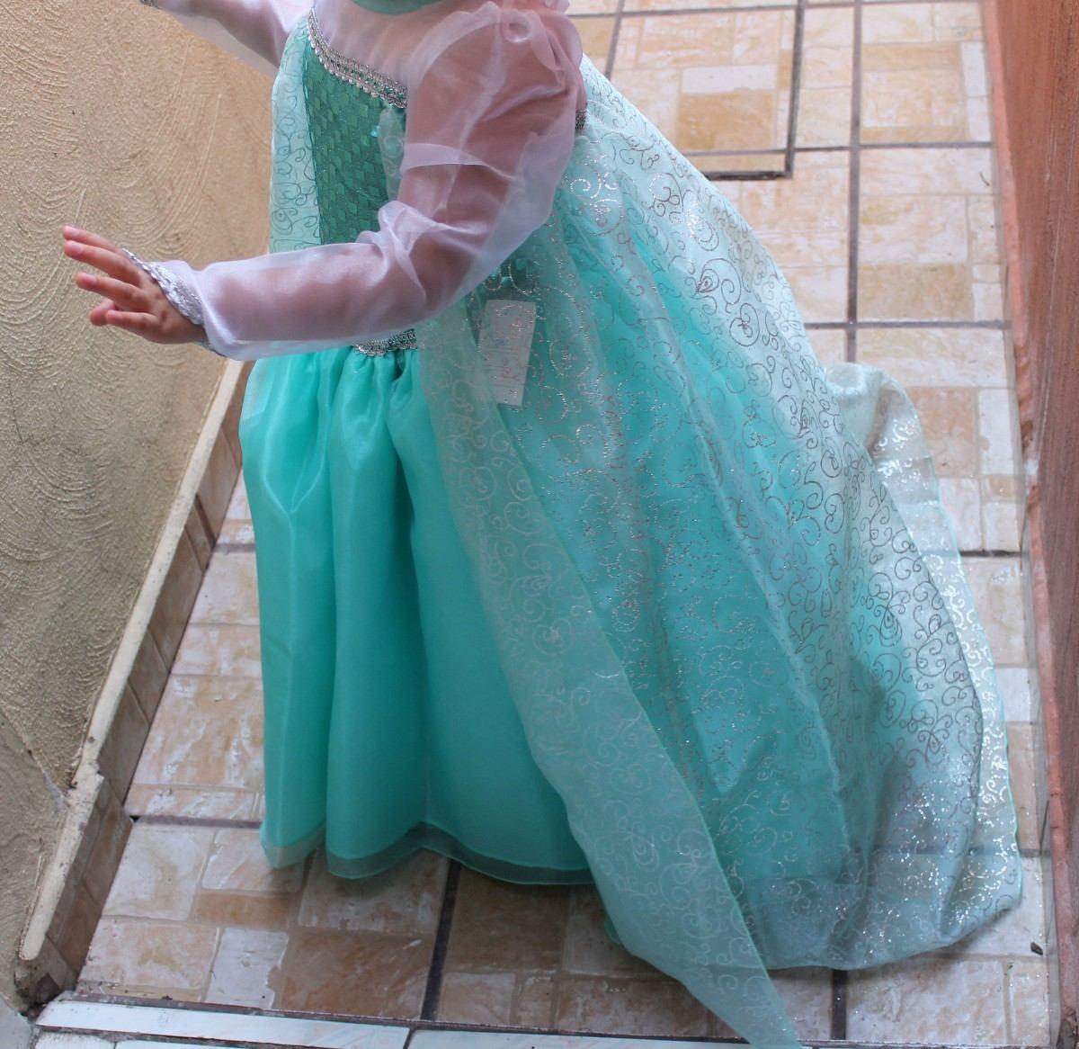 e366a51c9 vestido o disfraz elsa frozen y corona tallas 1 a la 12. Cargando zoom.
