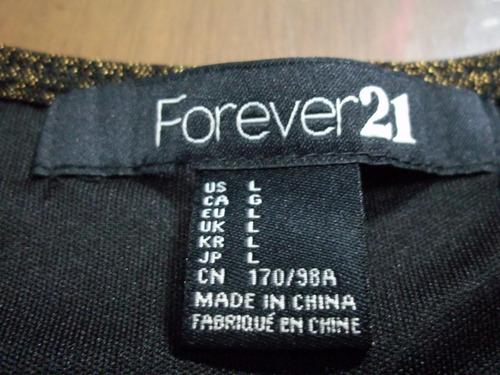 vestido original forever 21 talla l