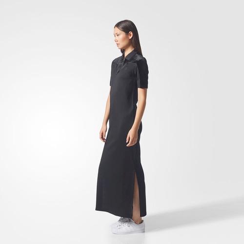 vestido originals vv long t dress mujer adidas cv9438