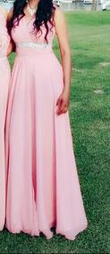 Vestido Palo De Rosa Ideal Para Graduacion Dama De Honor