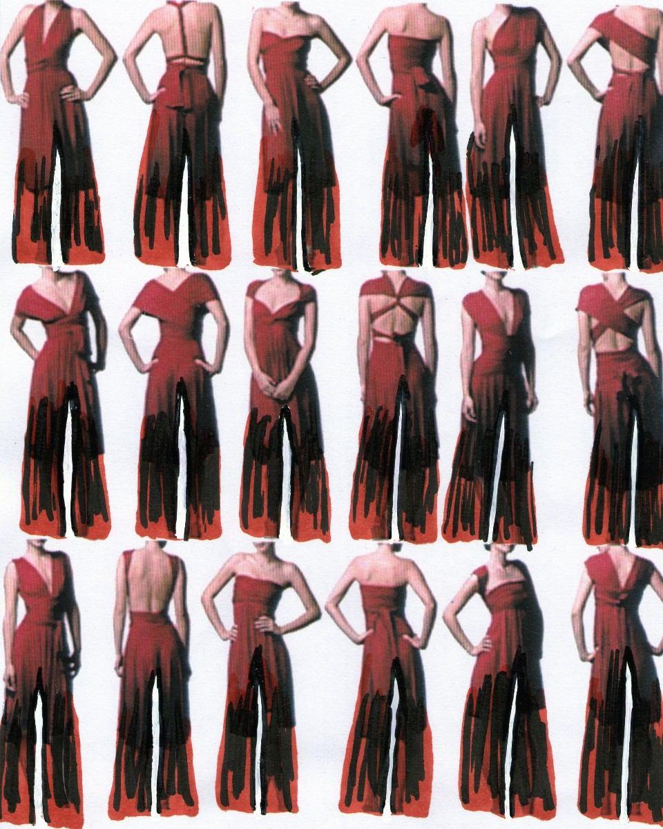 cdea87aa842 Vestido Pantalon Palazzo Mono Multiuso Modal Todos Talles - $ 986,50 ...
