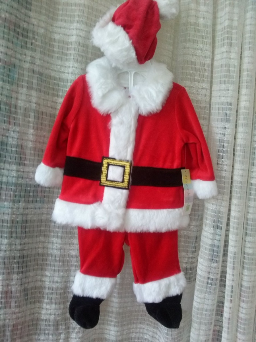 Vestido Papa Noel Americano Para Bebe 90000 En Mercado Libre - Bebes-vestidos-de-papa-noel