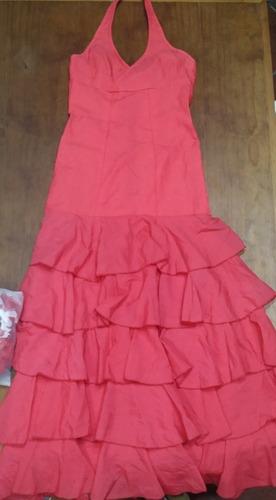 vestido para baile flamenco