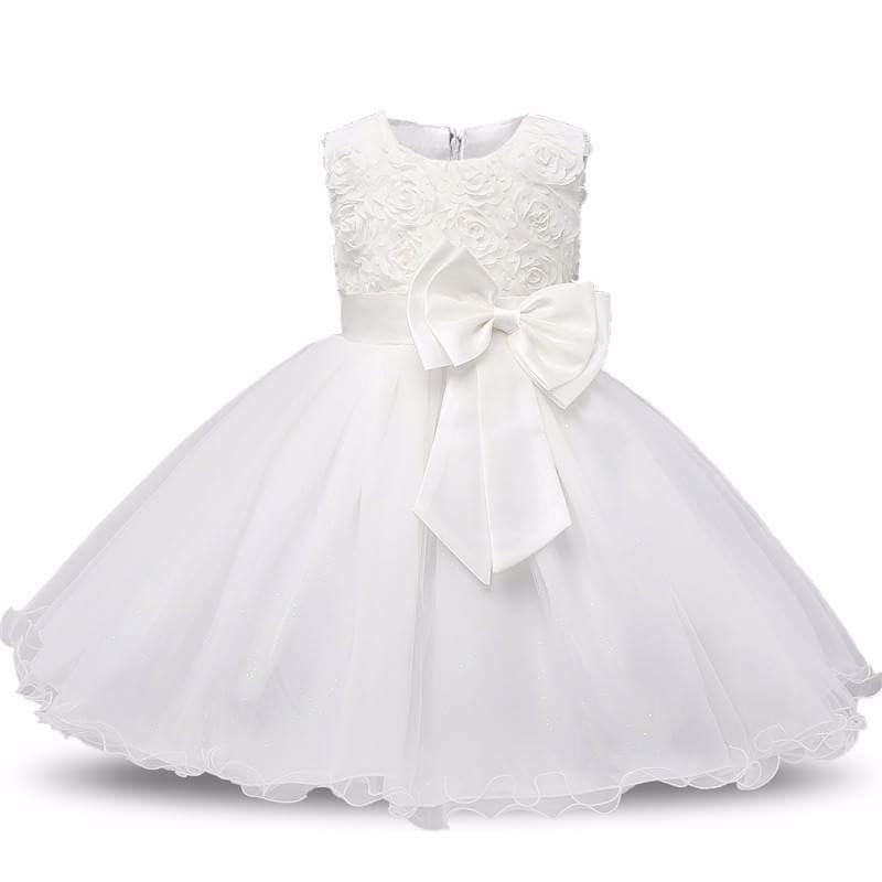 Vestido Para Bautizo Niña Ropa Bebe Ropa Niña Importada