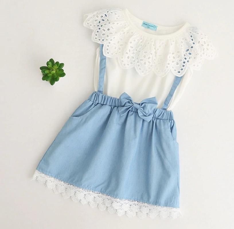 ed571c004 Vestido De Verano Para Niña   Ropa Bebé -   15.990 en Mercado Libre