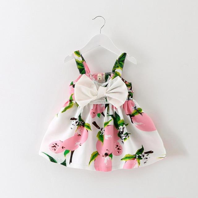 Vestido Para Bebe Flores