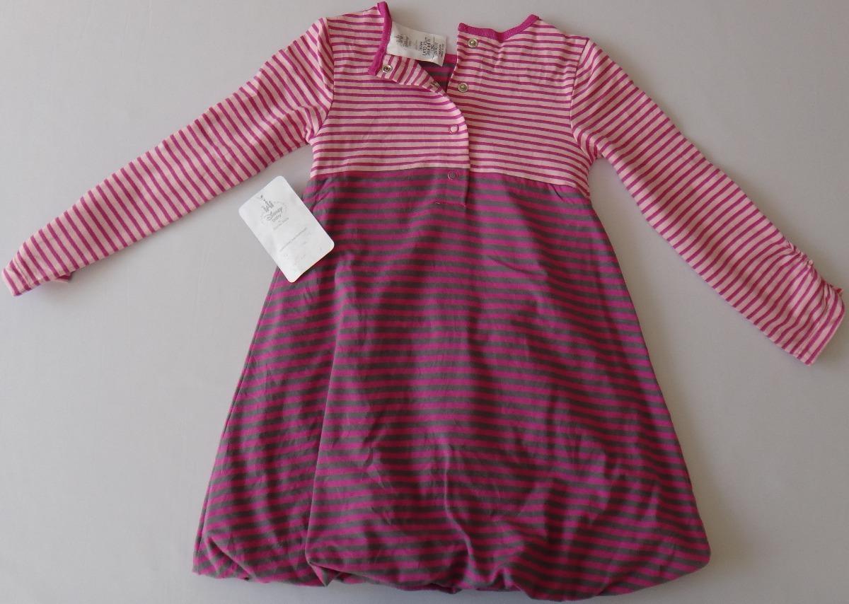 Vestido Para Bebé De Minnie Mouse Color Gris-rosa 12-24 M - $ 249.00 ...