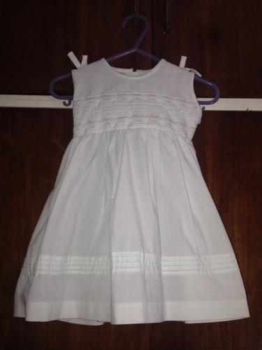 vestido para bebe de 9 a 12 meses