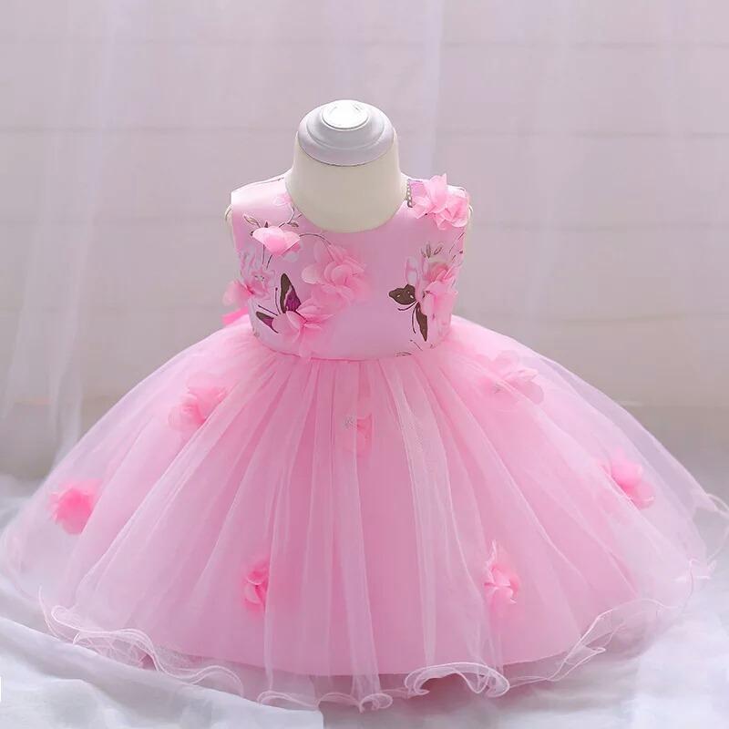 Vestido Fiesta Para Bebe Niña Vestido Para Bebes Bebas