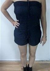 vestido para dama gris tipo playero talla l usado