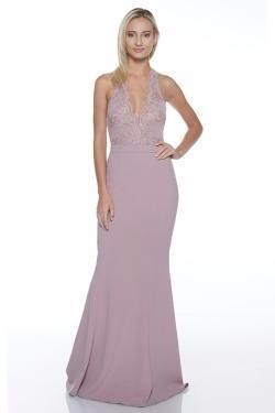 Vestidos dama de honor rosa palo