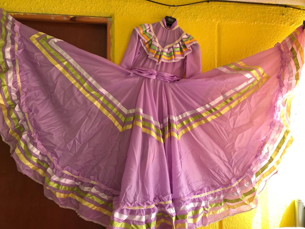 Vestido Para El Baile Típico Mexicano - $ 1,000.00 en Mercado Libre