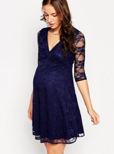603ff8ca6 Vestido Para Embarazada De Encaje embarazada-ivanitaashion!! - S  75 ...