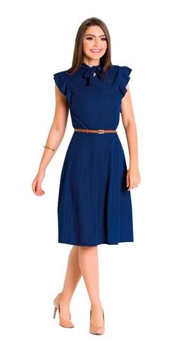 vestido para festa de formatura midi plus size manga curta