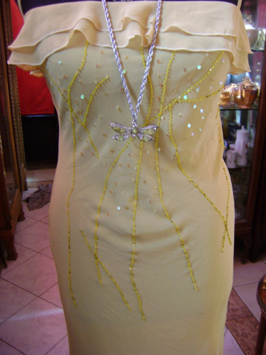 vestido para fiesta gasa de seda