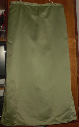 vestido para fiesta, largo, dos piezas, escotado,verde