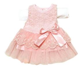 Vestido Para Fiesta Niñas De 6 8meses Años Exclusivo