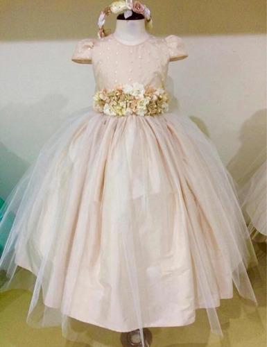 vestido para fiesta, presentación o bautizo para niña