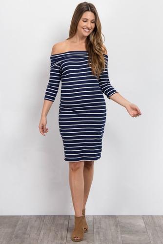 vestido para lactancia a rayas/embarazada-ivanitafashion!!