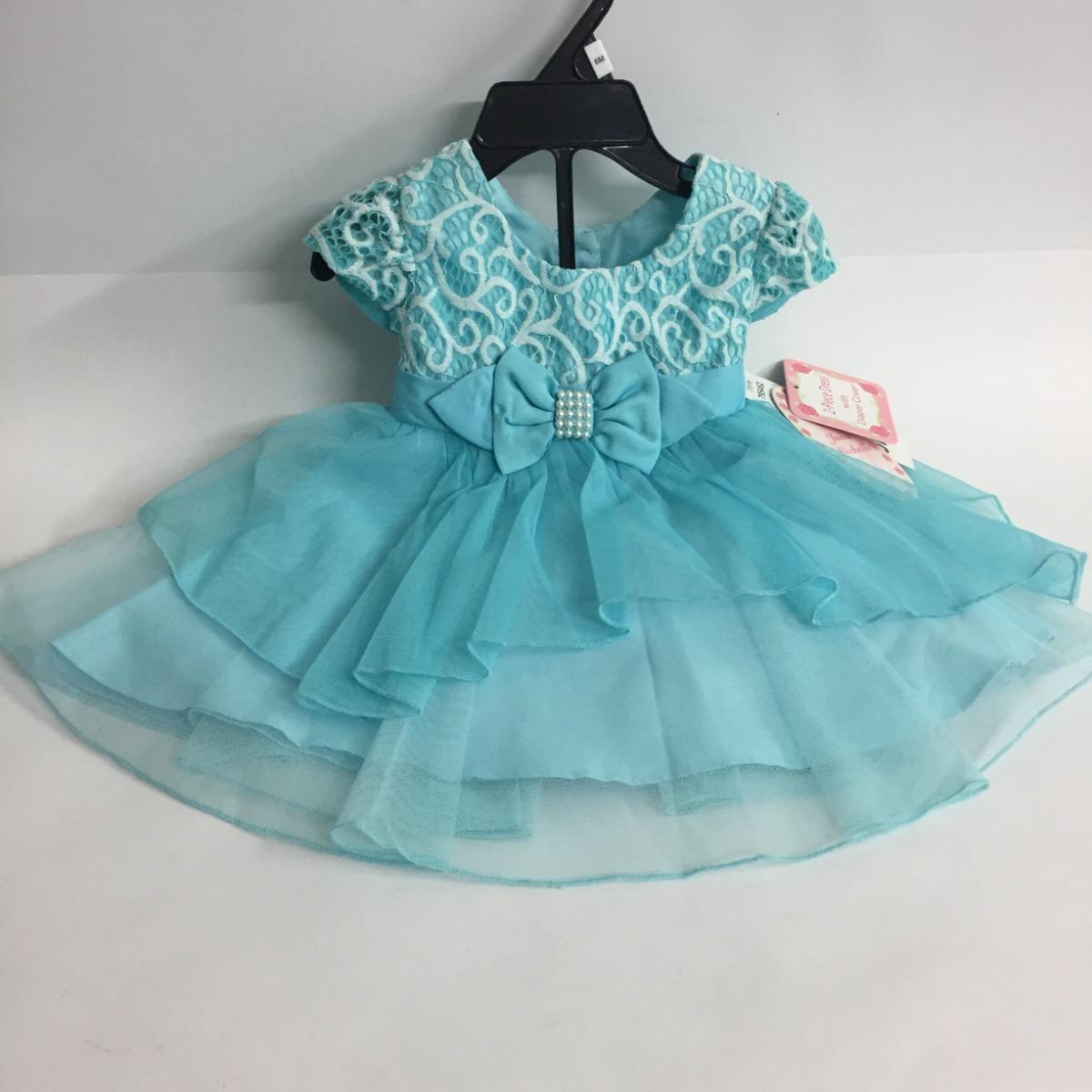 Vestido Para Niña 3 Años Azul Elegante Envío Gratis
