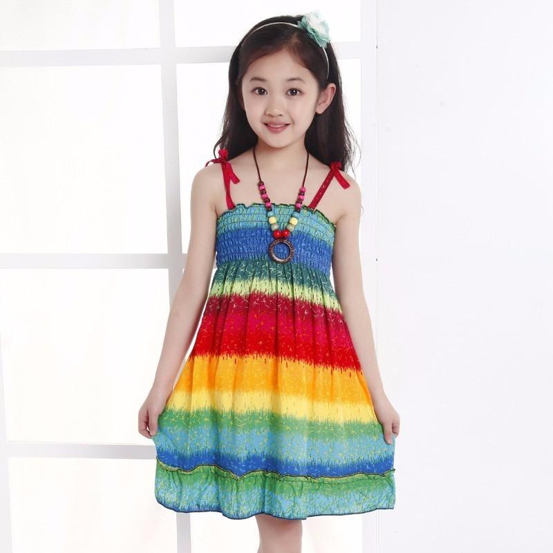 ee23784e7 Vestido Para Nina Casual Elegante Moda Moderna Envio