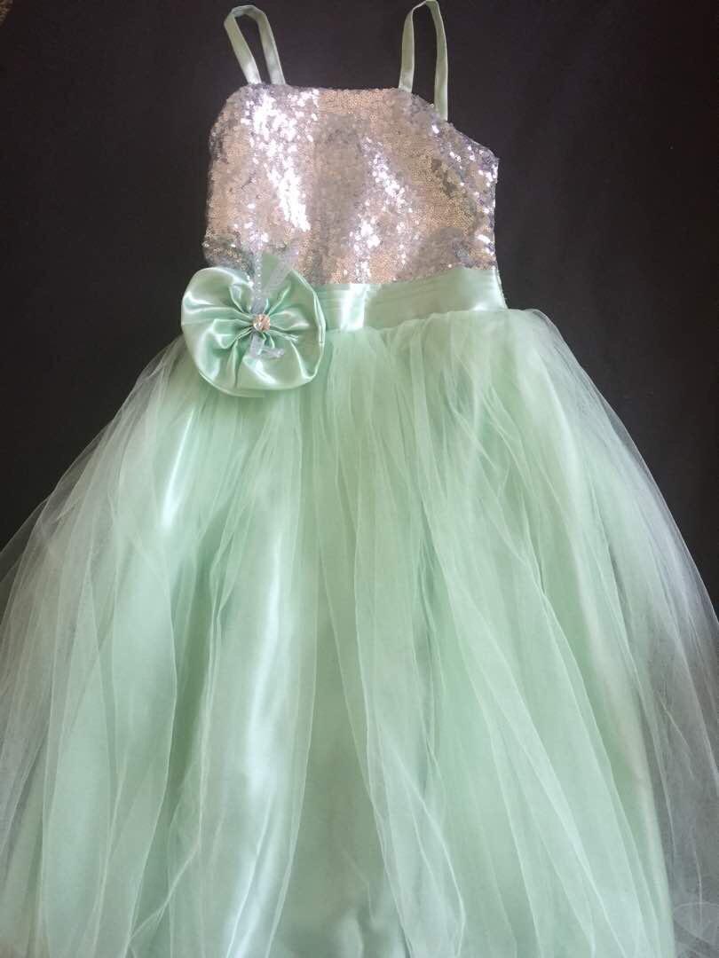 Imagenes de vestidos color verde agua para ninas