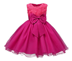 Vestido Para Niña Elegante Fiesta Bautizo Pacejita