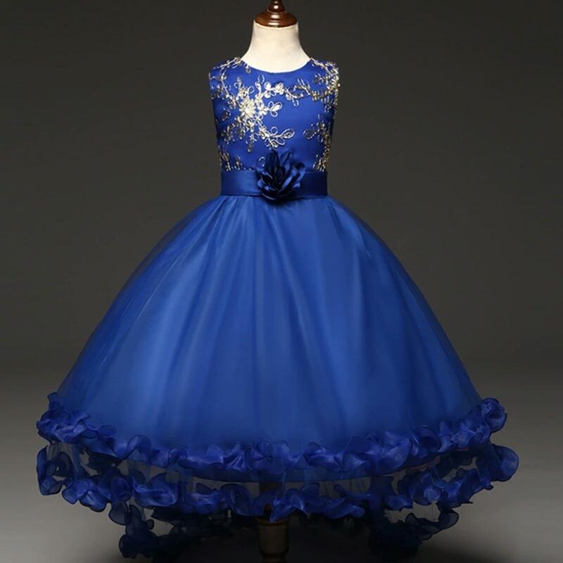 Vestidos Azul Rey Cortos Para Nina Vestidos Populares 2019
